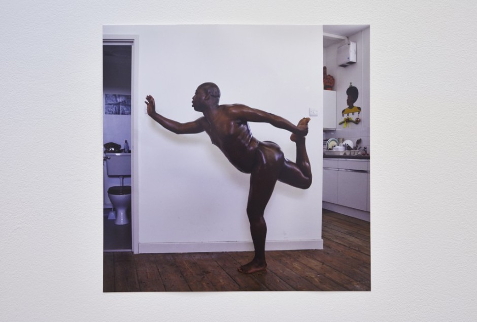 Harold Offeh, 'Covers: After Grace Jones, Island Life, 1985 (Graceful Arabesque) 2008′, 2008, C-print. Courtesy the artist.