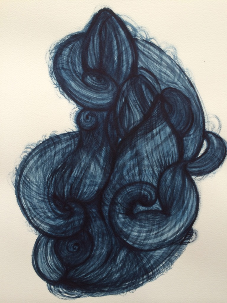 Image 4 Dark Thought Knot of Hair
