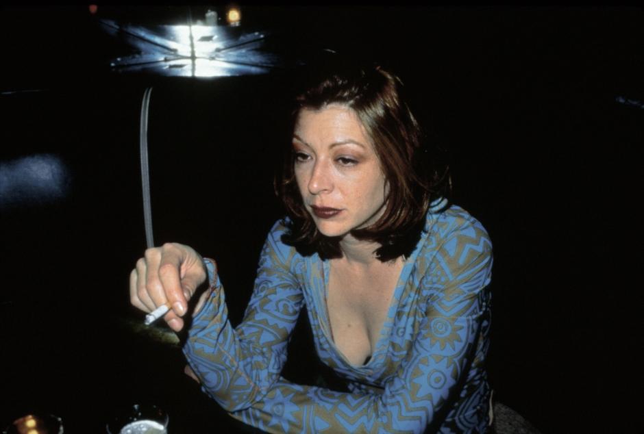 goldin_kathleen-at-the-bowery-bar-nyc_1995