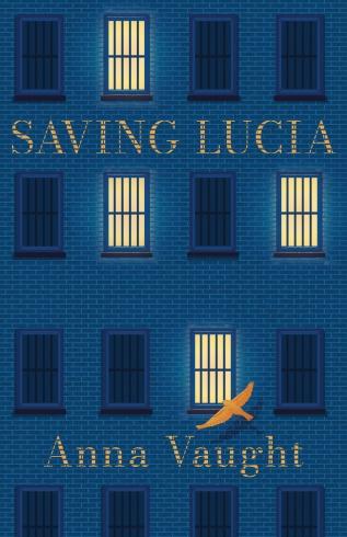 Saving Lucia with Orange text and orange bird